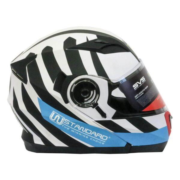 کلاه کاسکت دابلیو استاندارد مدل Race