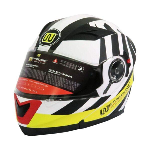 کلاه کاسکت دابلیو استاندارد مدل Race بلوتوث