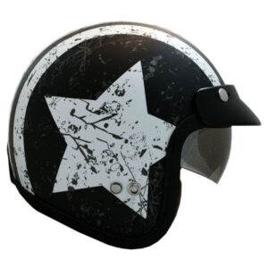 کلاه کاسکت راپیدو مدل 859-STARBLK