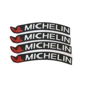 برچسب استیکر روی لاستیک میشلن MICHELIN (بسته 4 عددی)