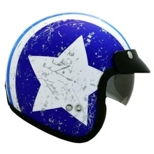 کلاه کاسکت راپیدو مدل 859-STARBLU